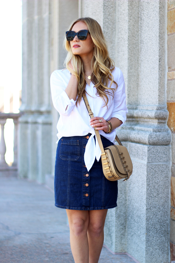 style how to wear a denim mini style cuspstyle cusp
