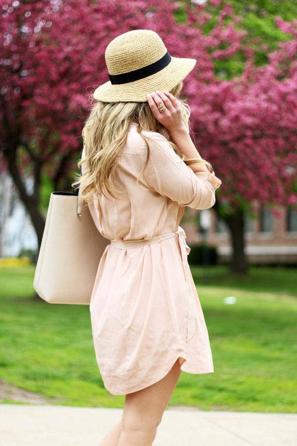 Blush-Pink-Shirtdress