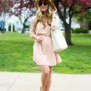 STYLE // Blush Pink Shirtdress