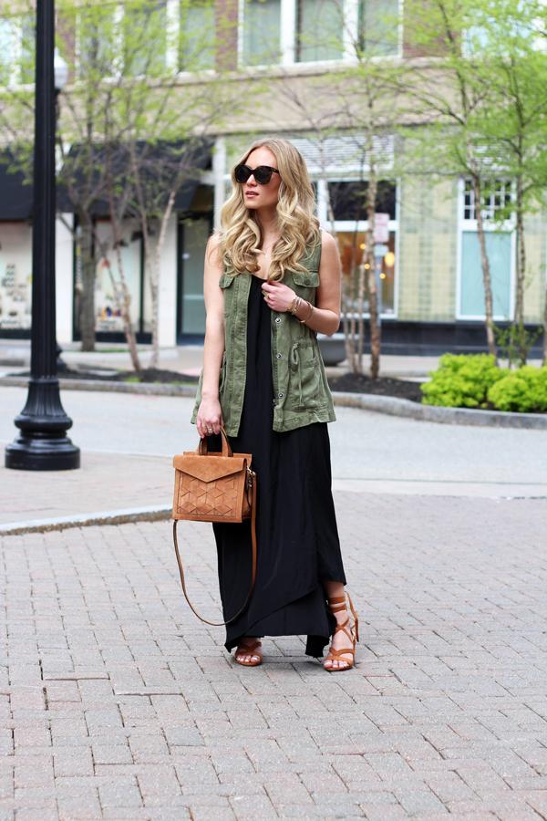 Utility-Vest-Black-Maxi-Dress