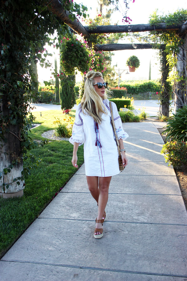 California-Wine-Tasting-Outfit-Embroidered-Dress