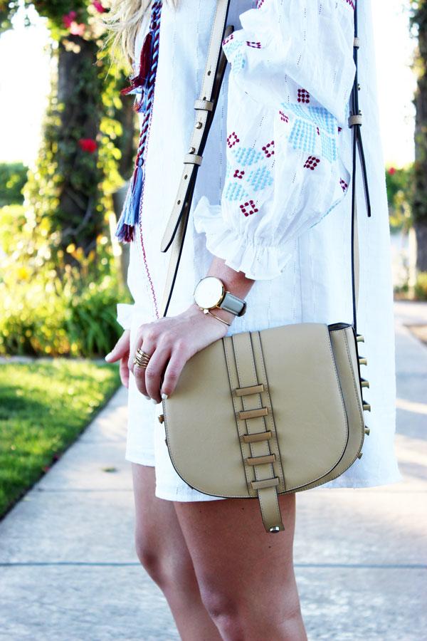 Embroidered-Dress-Studded-Crossbody-Bag
