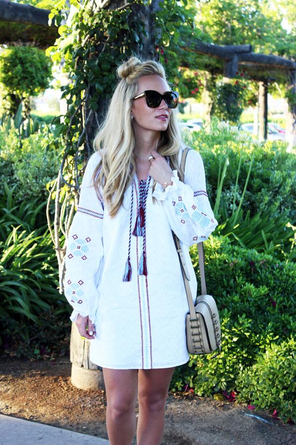 Embroidered-Shift-Dress-Tassels
