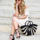 STYLE // Crochet Off Shoulder Dress