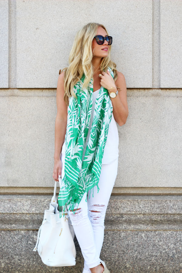 Style-Cusp-Palm-Printed-Scarf-Ripped-White-Jeans