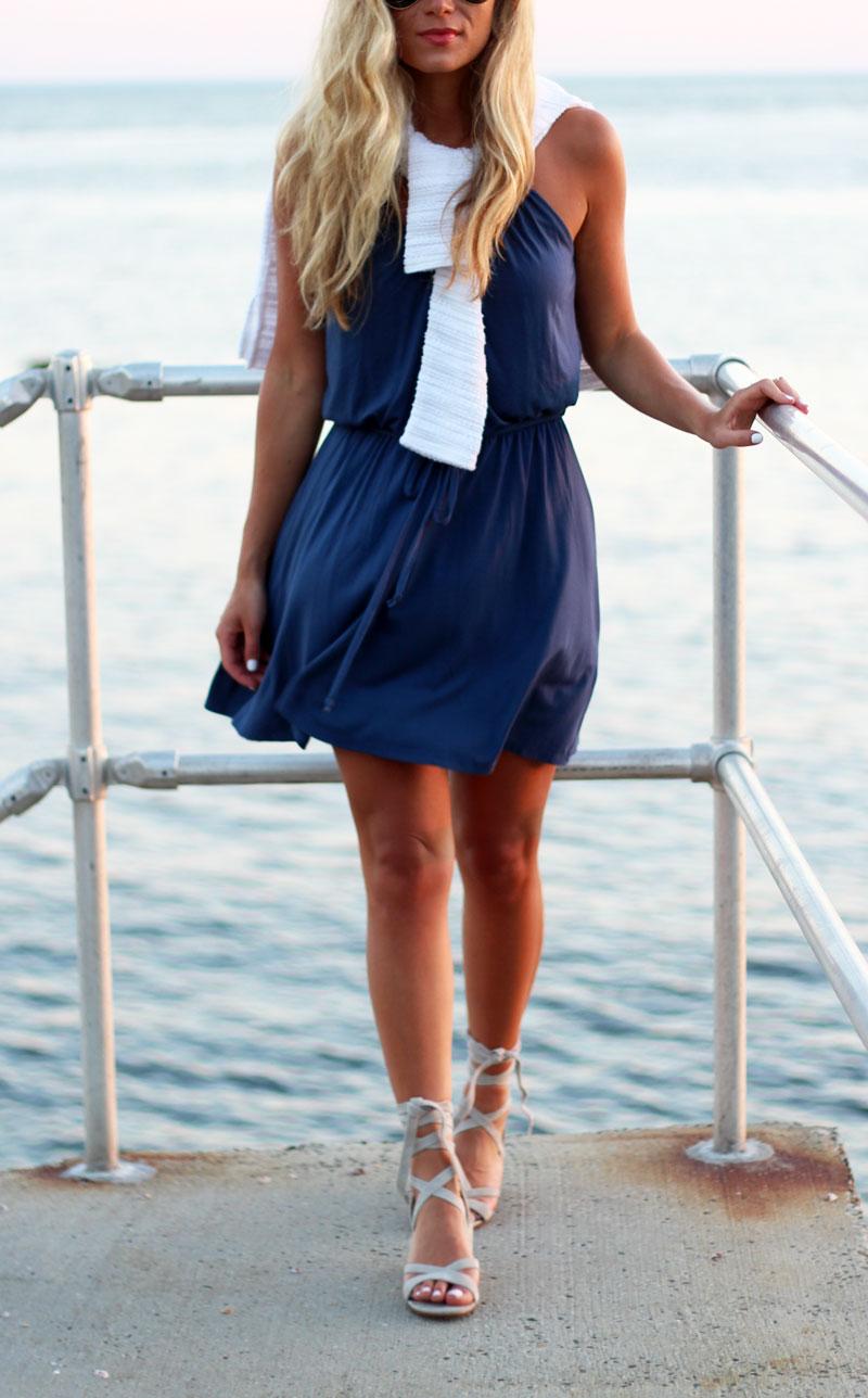 Bella-Luxx-Swing-Dress-White-Sweater-Ivanka-Trump-Lace-Up-Heels