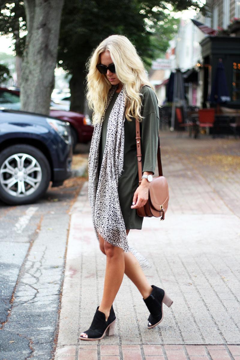 Dolman-Sleeve-Dress-Leopard-Scarf-Black-Booties