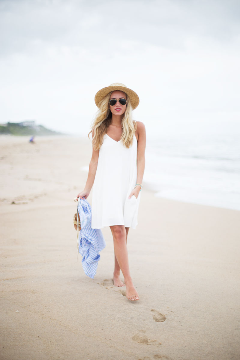 Hamptons-Style-White-Swing-Dress
