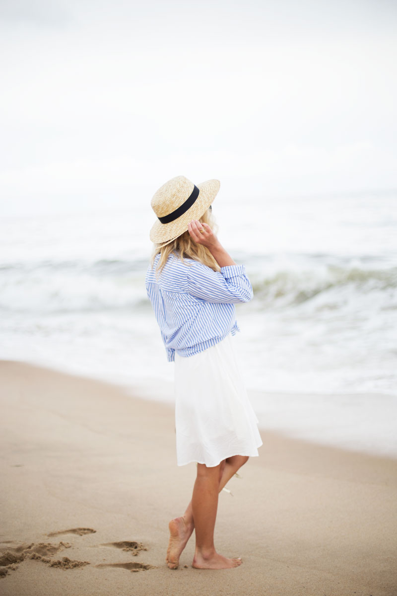 Hamptons-Summer-Style-Boater-Hat-Stripes