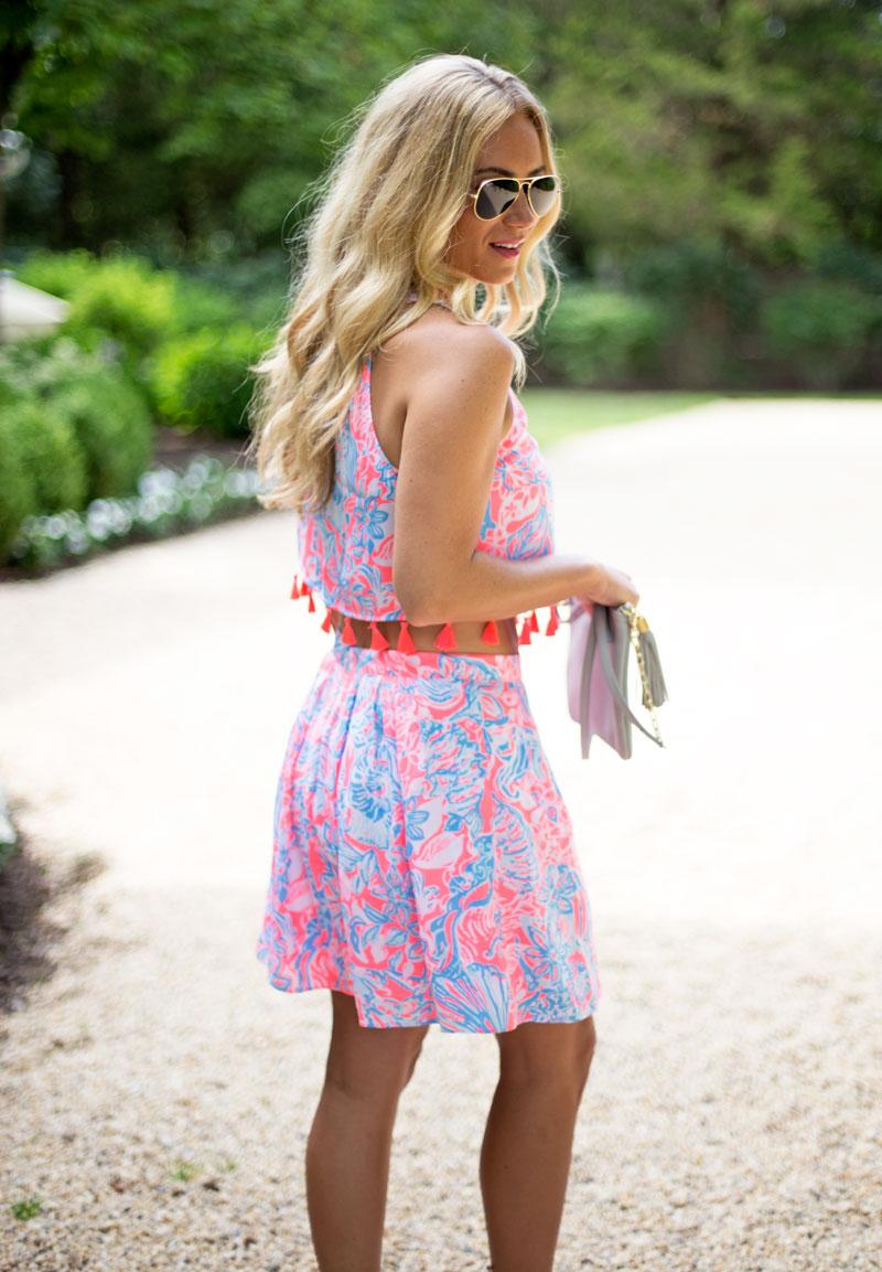 Matching-Crop-Top-Skirt-Set