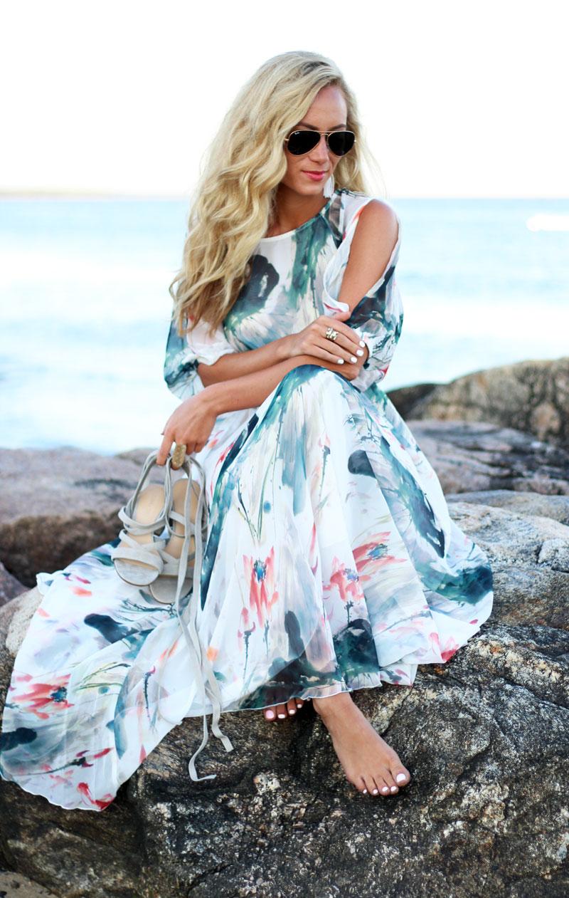 Summer Maxi Dresses for Beach