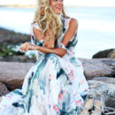 STYLE // Watercolor Maxi Dress