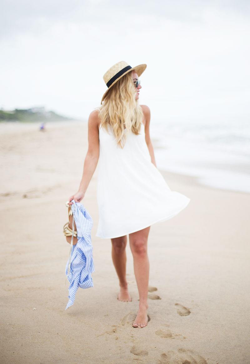 White-Swing-Dress-Boater-Hat