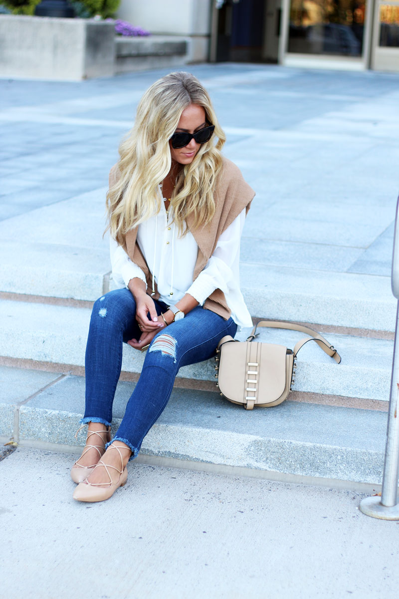 Abercrombie-Fitch-White-Top-Dolman-Sweater-Ripped-Knee-Denim