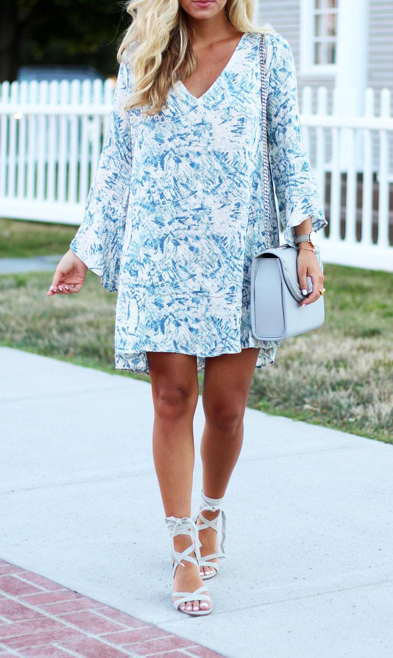 Nordstrom-Printed-Bell-Sleeve-Dress
