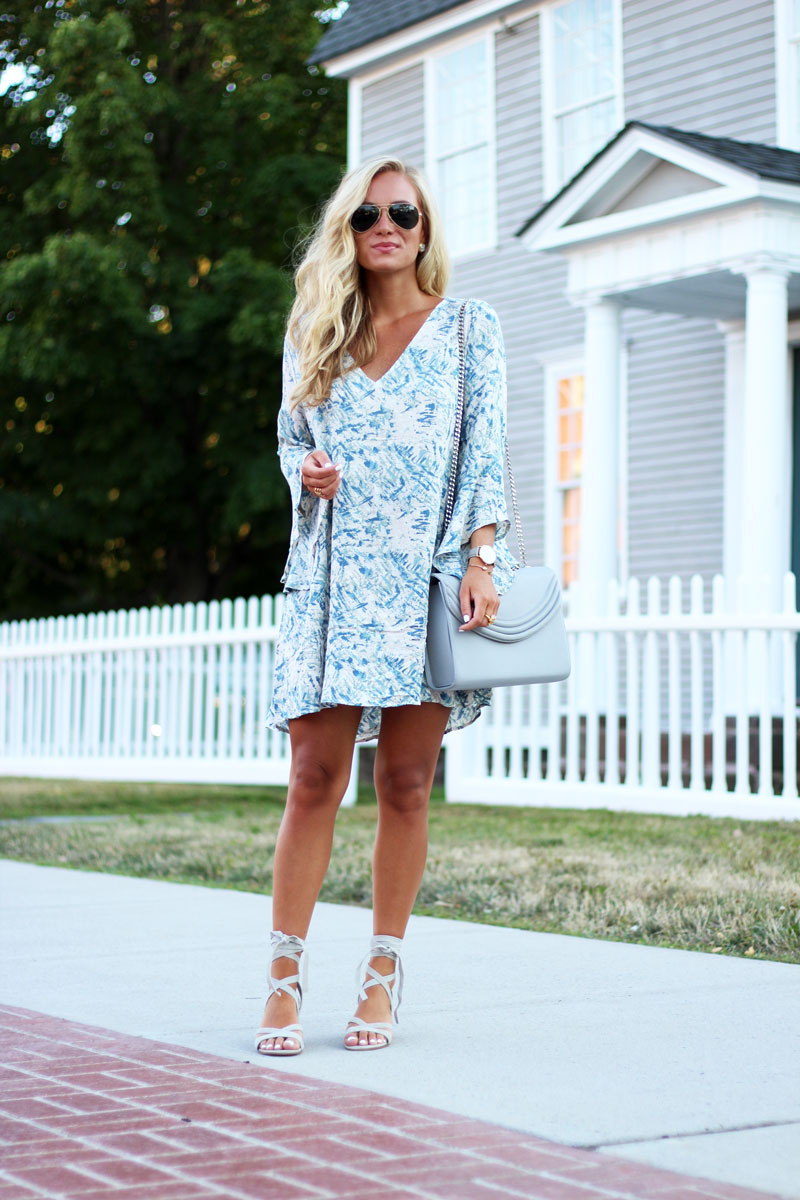 Nordstrom-Printed-Dress-Under-$50-Anniversary-Sale-Lace-Up-Heels
