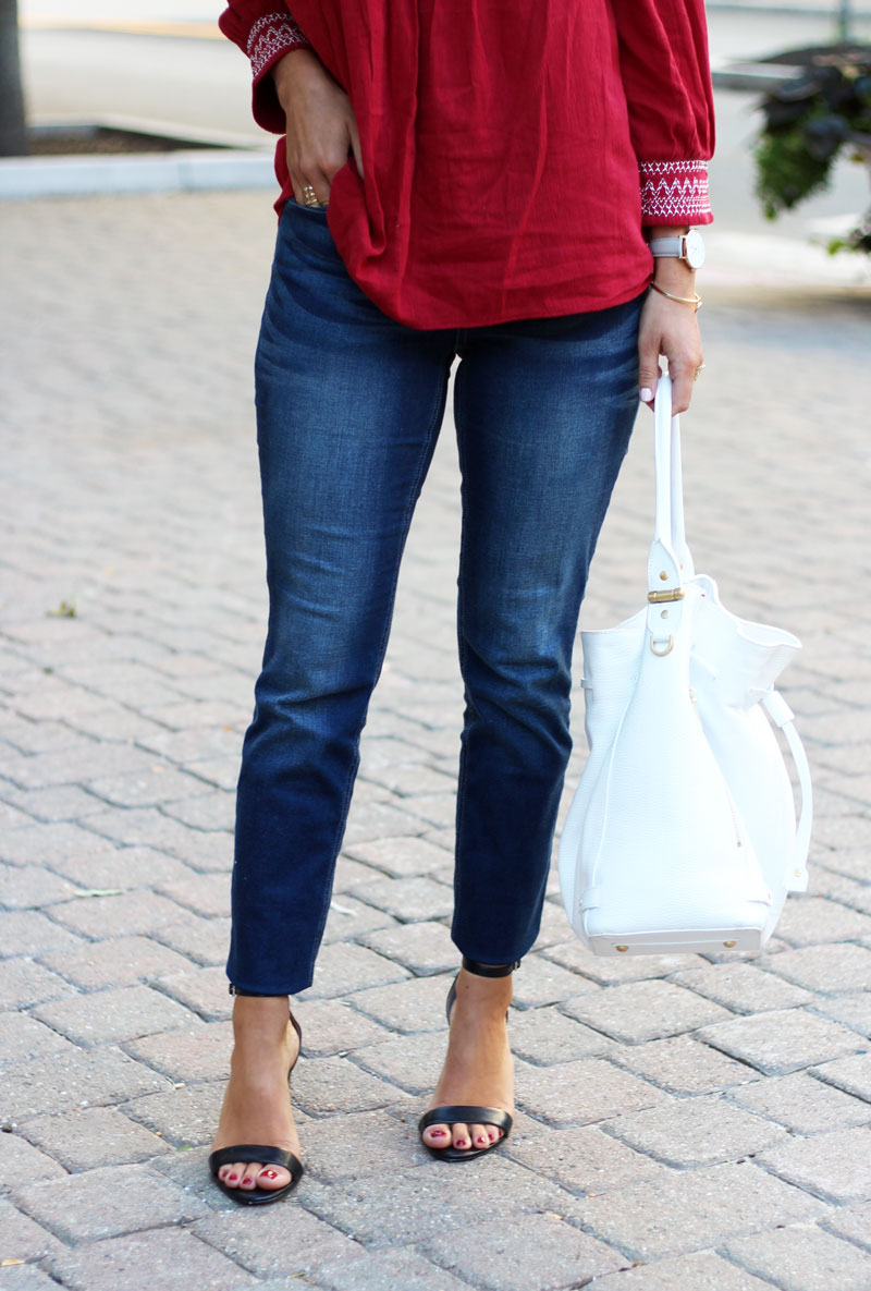 Skinny-Jeans-Black-strappy-Heels