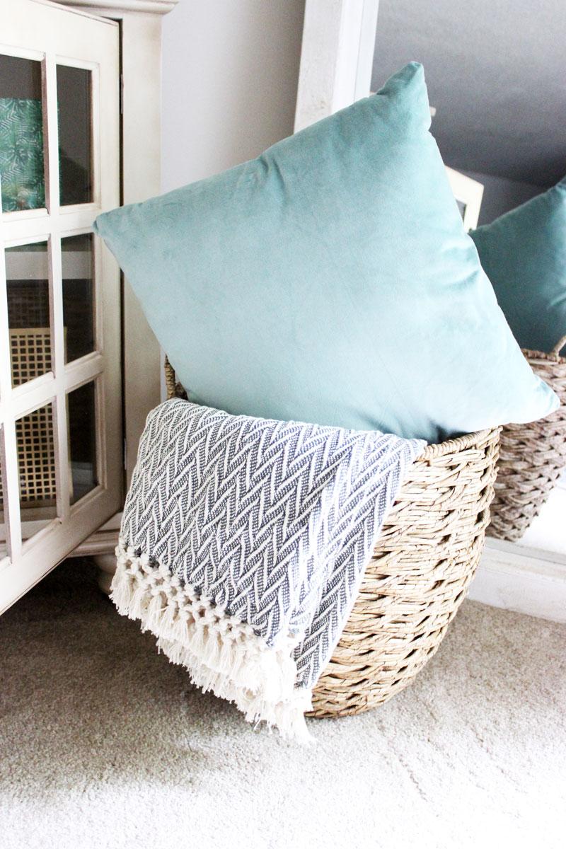 Turquoise-Velvet-Pillow-Printed-Throw-Blanket-World-Market