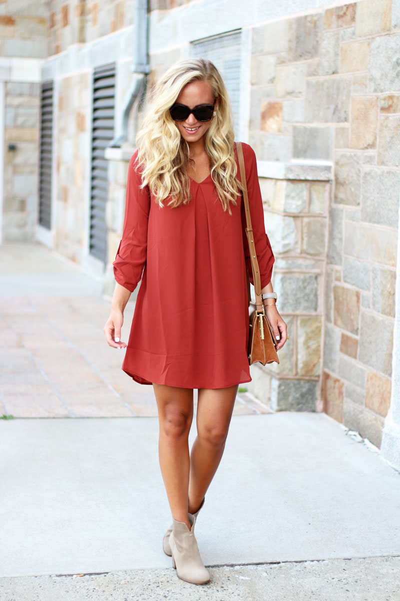Affordable-Fall-Shift-Dress