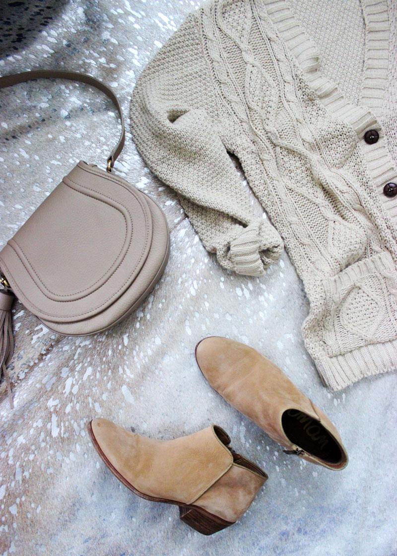 cable-knit-boyfriend-cardigan-sweater-gigi-new-york-jenni-crossbody-bag-sam-edelman-booties-fall-style-staples