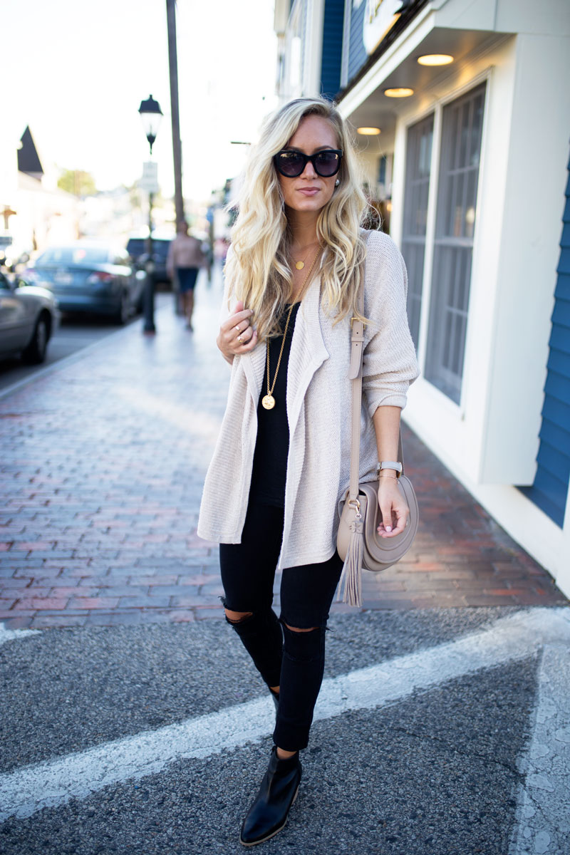 cocoon-cozy-cardigan-ripped-black-jeans-black-booties-fall