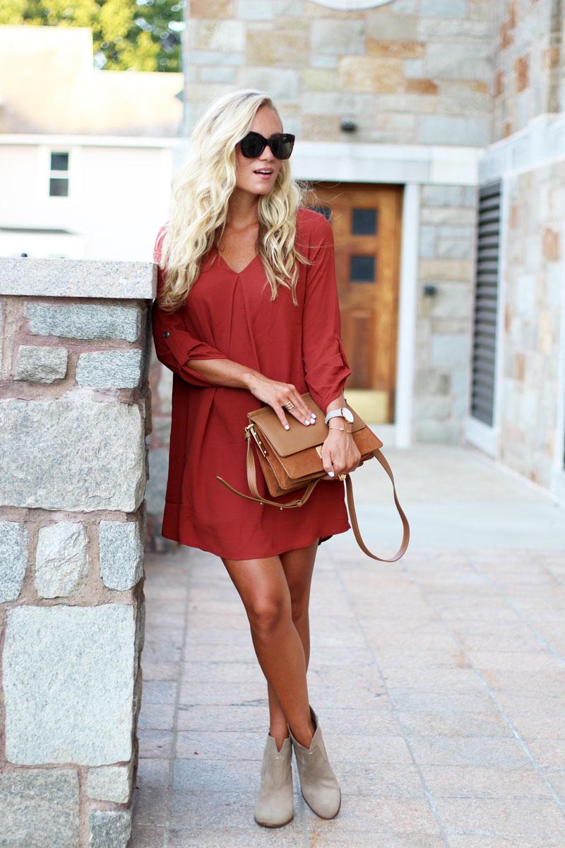 Fall-Shift-Dress-Under-$50