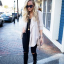 STYLE // Cozy Cardigan in Kennebunkport