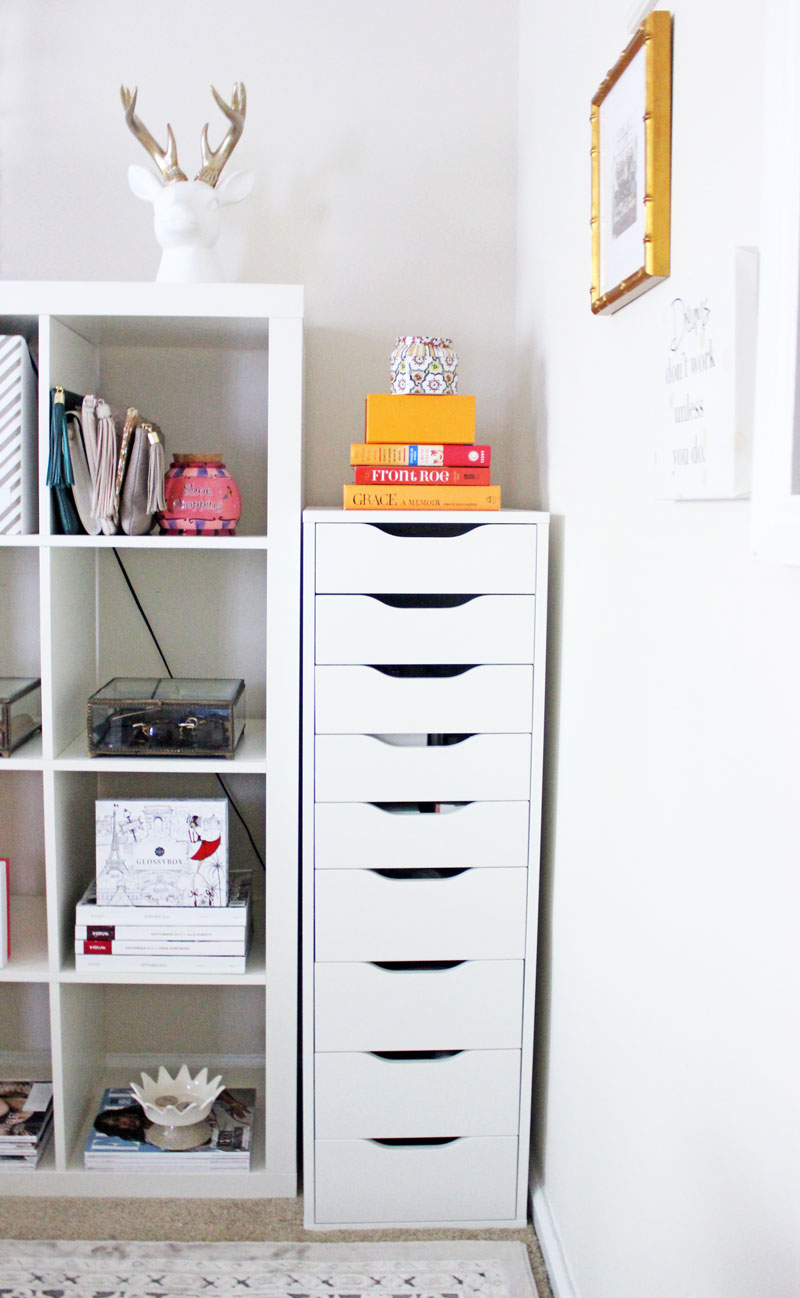 ikea-alex-organizer-blogger-home-office