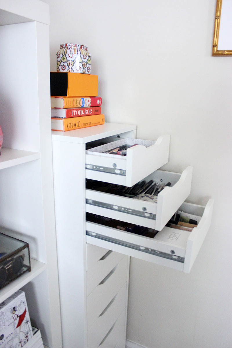 ikea-alex-organizer-for-beauty-products-blogger-home-office