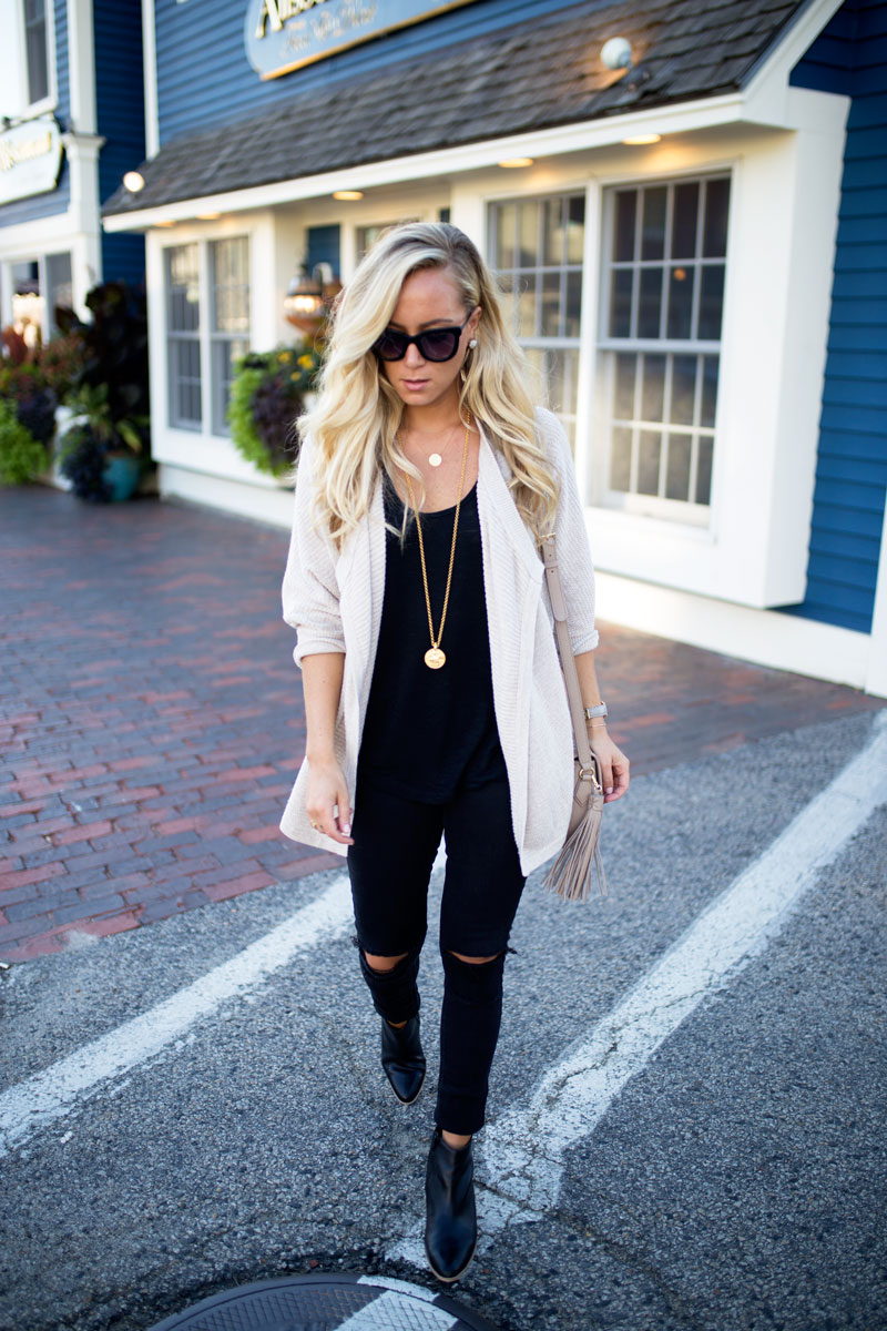 madewell-cardigan-julie-vos-necklace-ripped-black-jeans-sole-society-booties