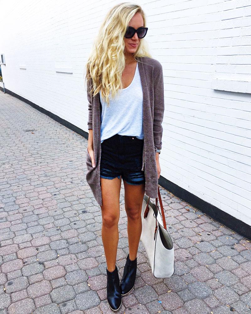 madewell-ryder-cardigan-madewell-layering-tank-distressed-black-shorts