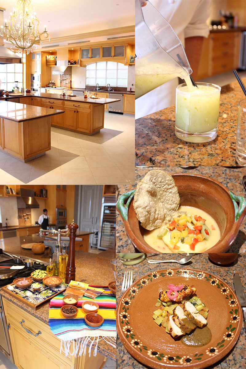 Ritz-Carlton-Cancun-Culinary-Center-Chef's-Kitchen-Experience