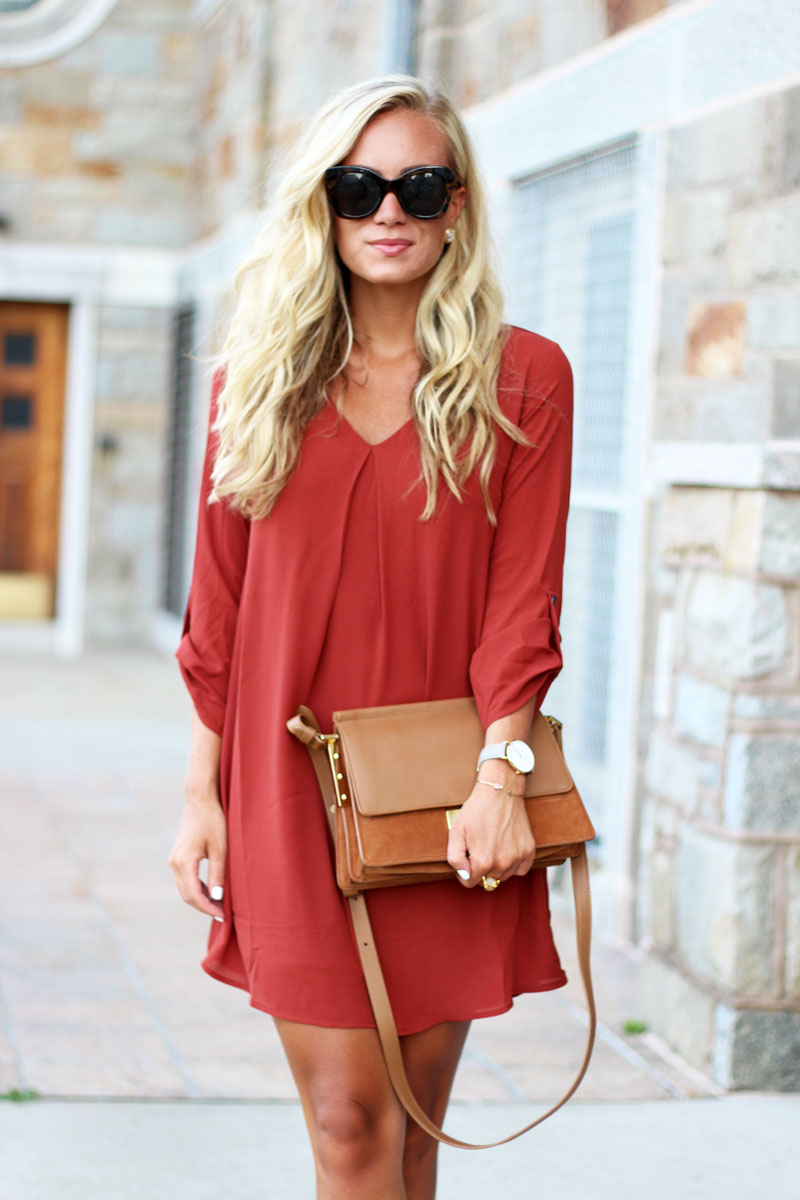 Style-Cusp-Affordable-Fall-Fashion-Nordstrom-Shift-Dress-under-$50