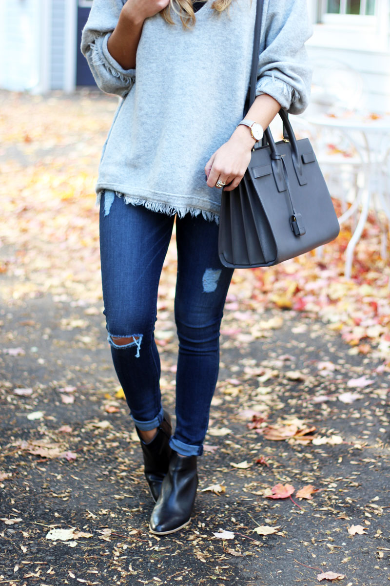 distressed-hudson-jeans-saint-laurent-bag-sole-society-booties-fall-style-zappos