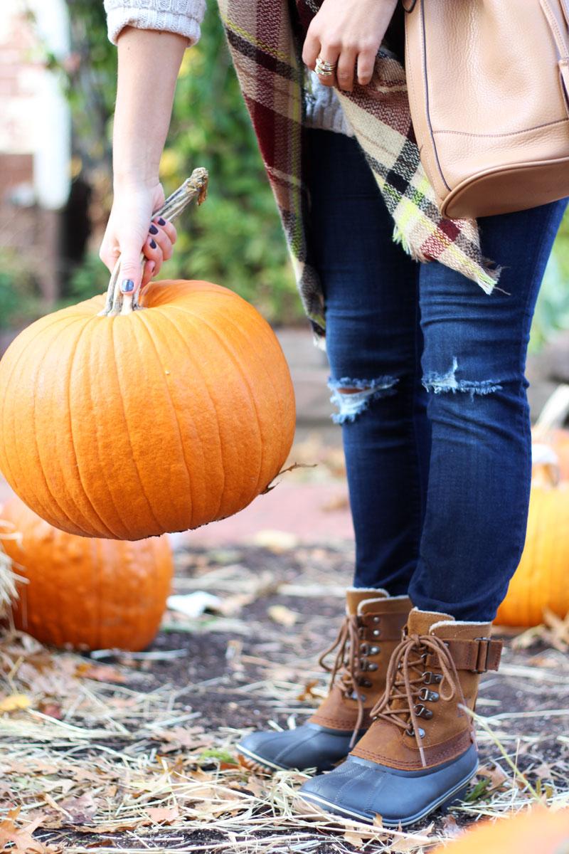 fall-pumpkin-picking-sorel-boots-zappos-footwear