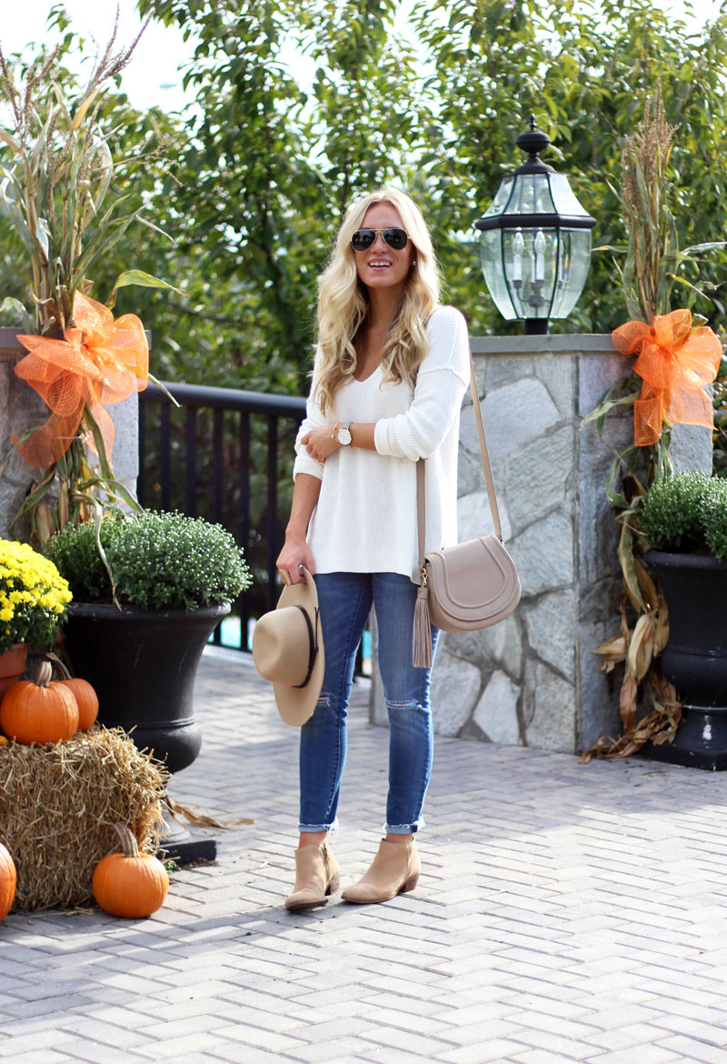 gigi-new-york-jenni-saddle-bag-sale-cream-knit-sweater-madewell-jeans-fall-style-blogger