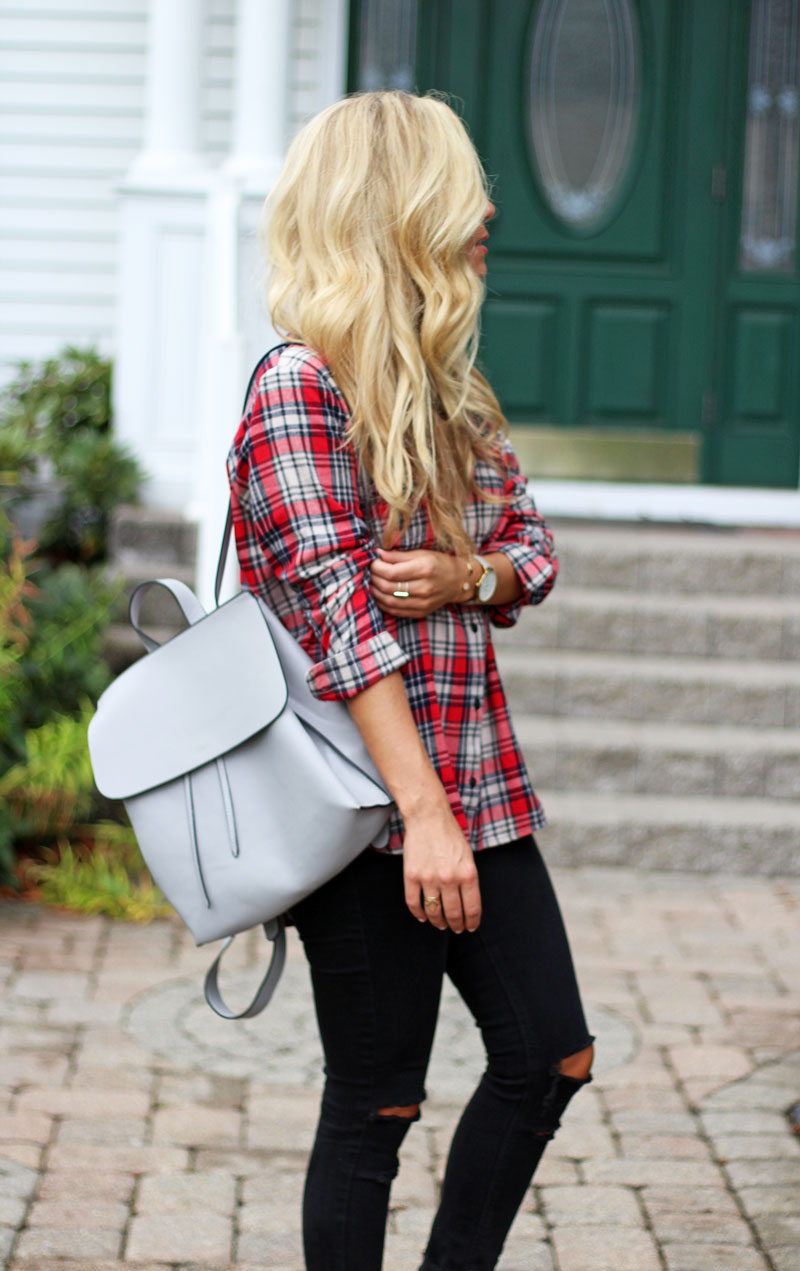 red-plaid-top-fall-style-blogger-madewell