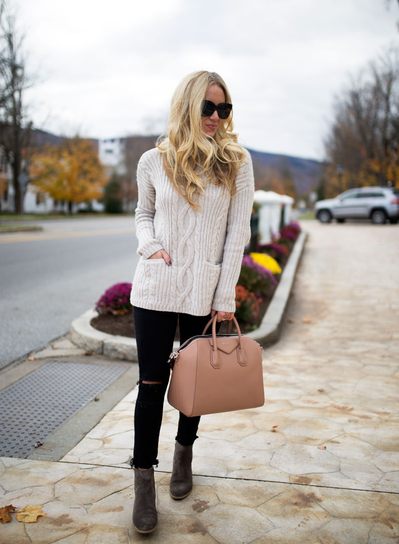 cable-knit-turtleneck-sweater-givenchy-bag