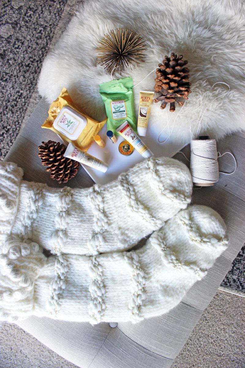 christmas-stocking-stuffer-ideas-burts-bees-anthropologie-stocking