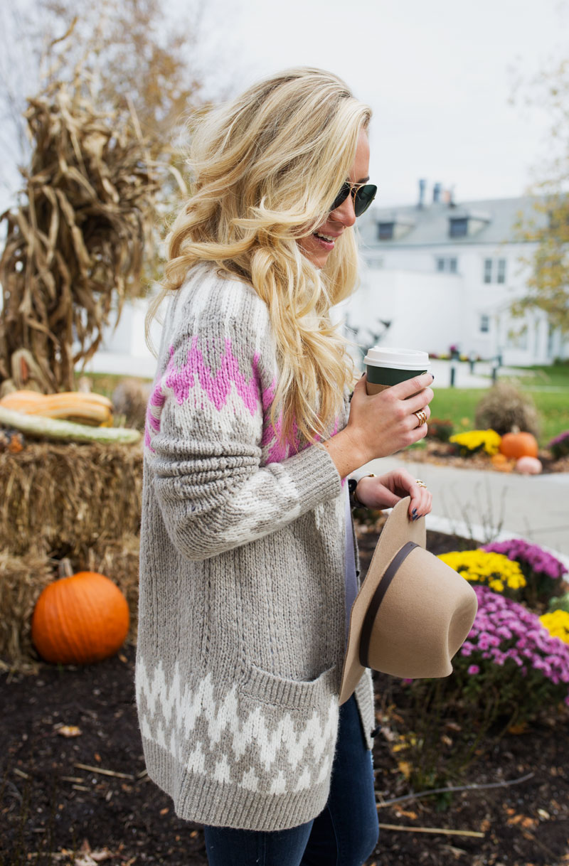 fall-outfits-abercrombie-fairaisle-cardigan-sweater-holiday-cozy