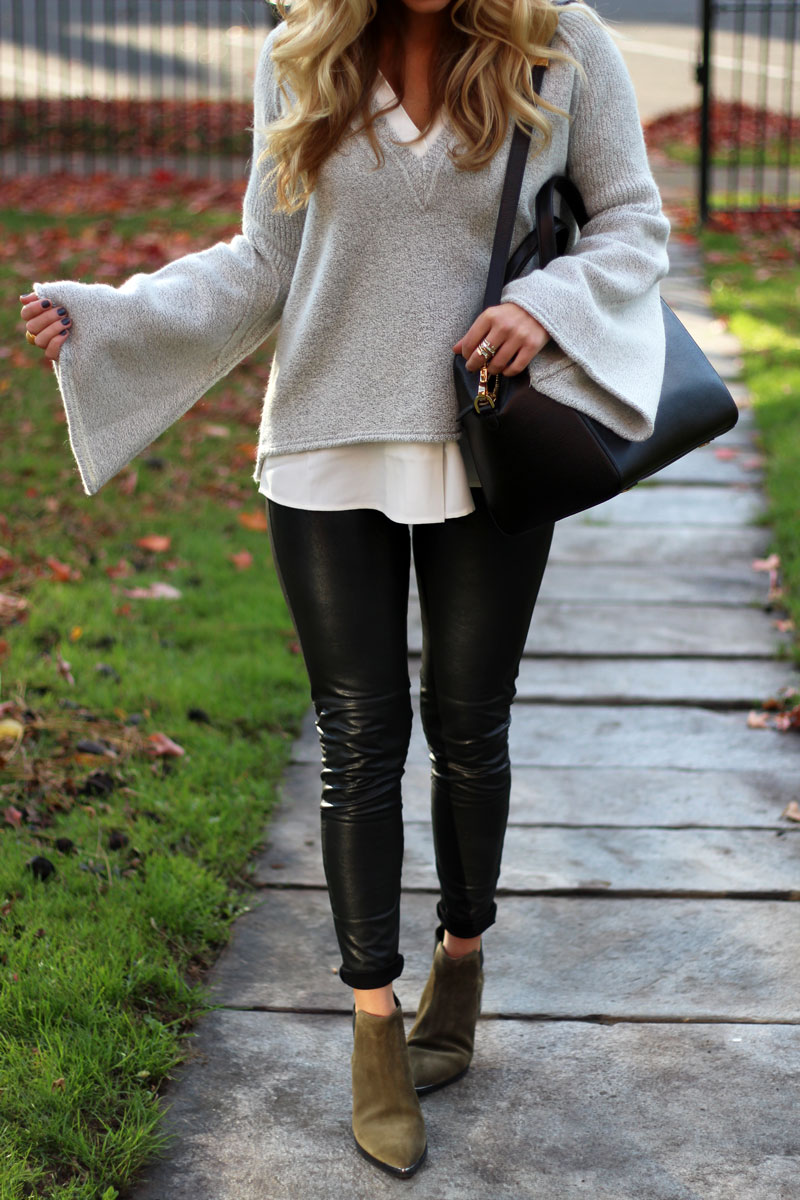 free-people-bell-sleeve-sweater-black-friday-sale-leather-leggings-marc-fisher-booties