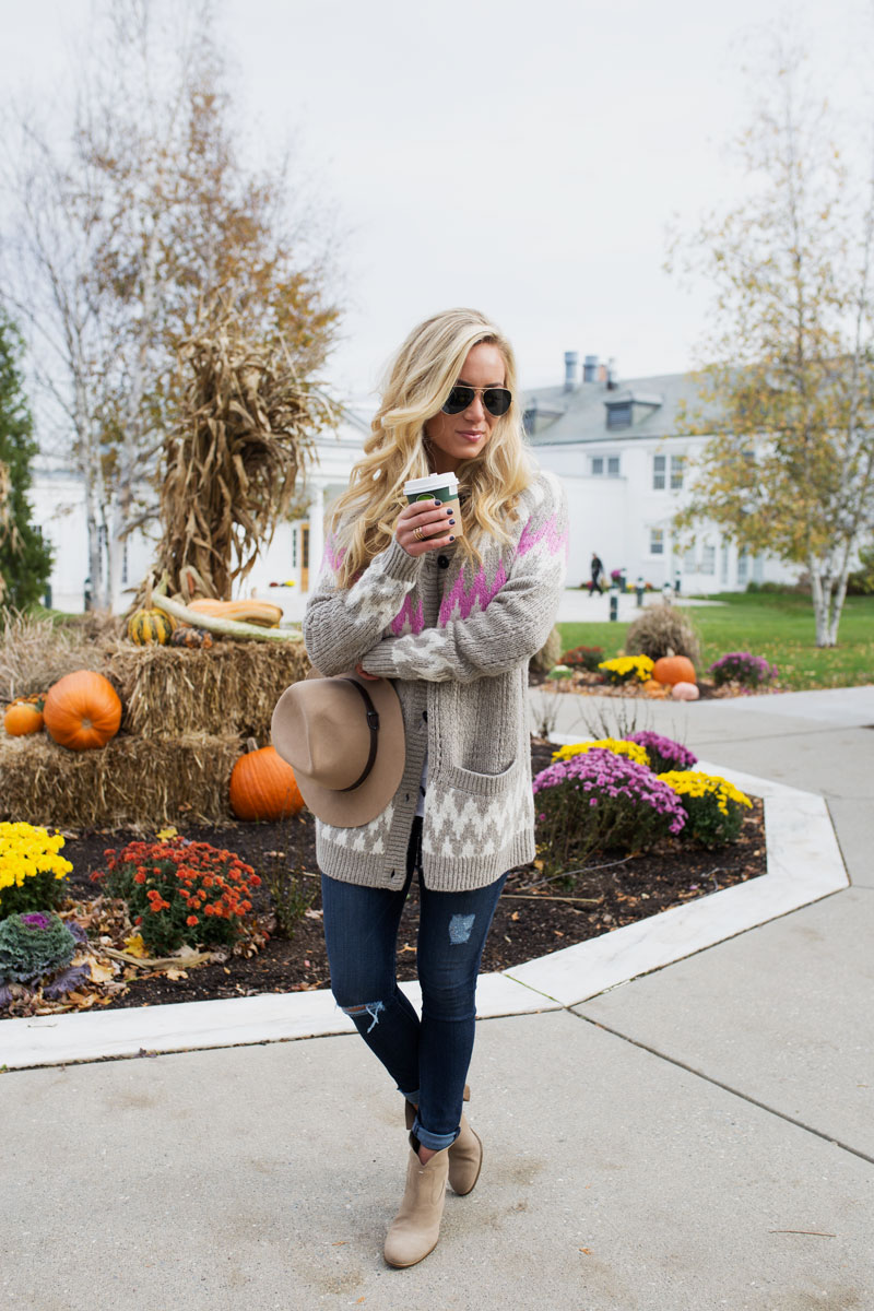 neutral-fairaisle-print-sweater-abercrombie-fall-outfits-tan-booties