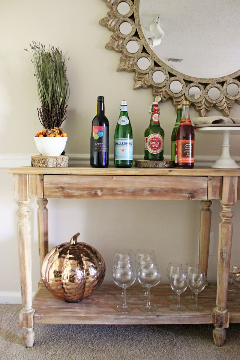 thanksgiving-beverage-bar-world-market-everett-foryer-table-holiday-home-decor-styling