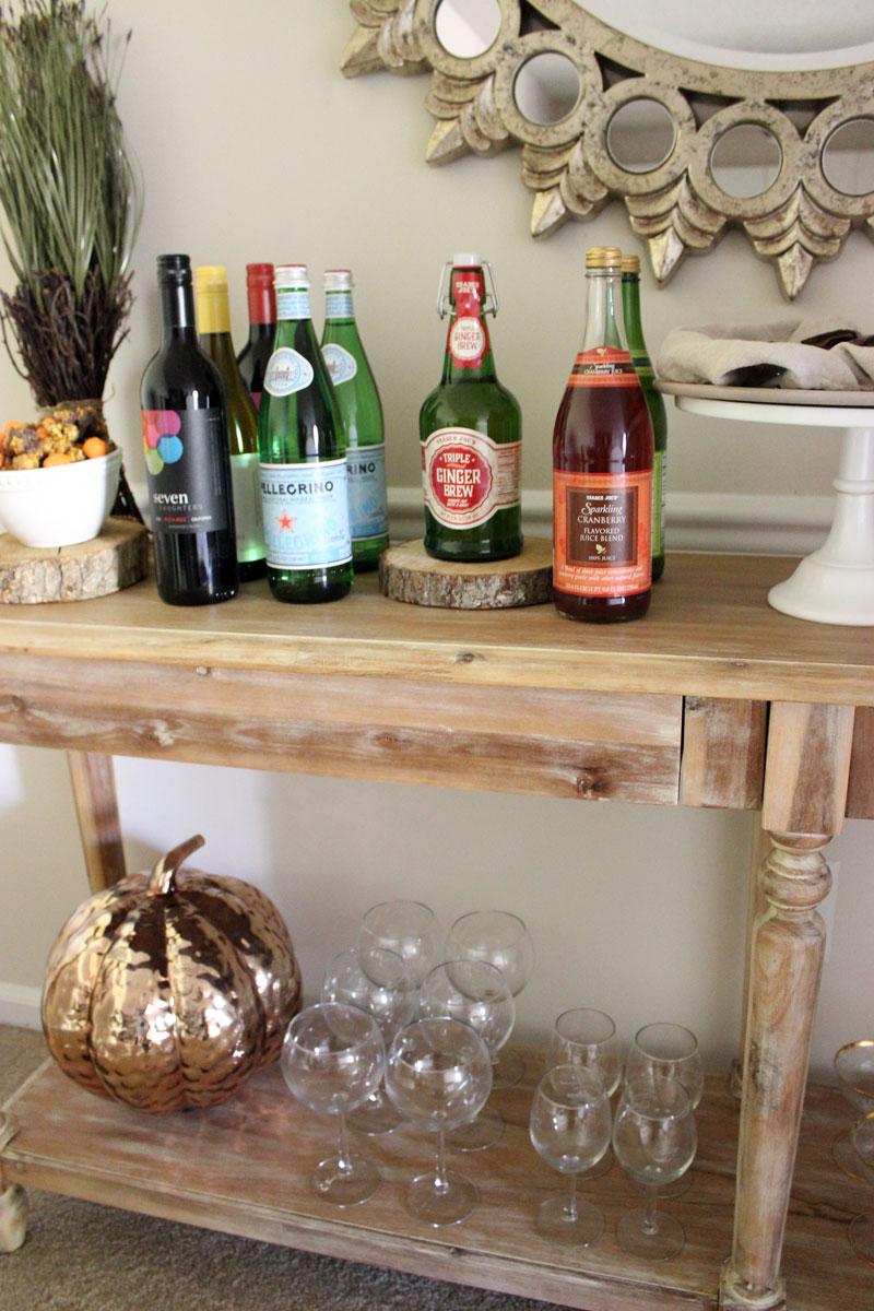 world-market-everett-foyer-table-thanksgiving-beverage-bar-styling