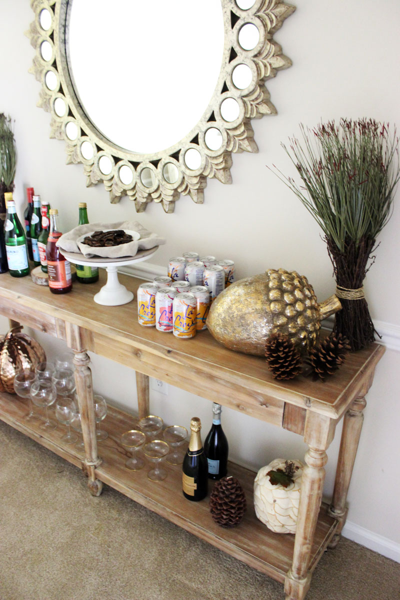 world-market-thanksgiving-beverage-bar-setup-entryway-table