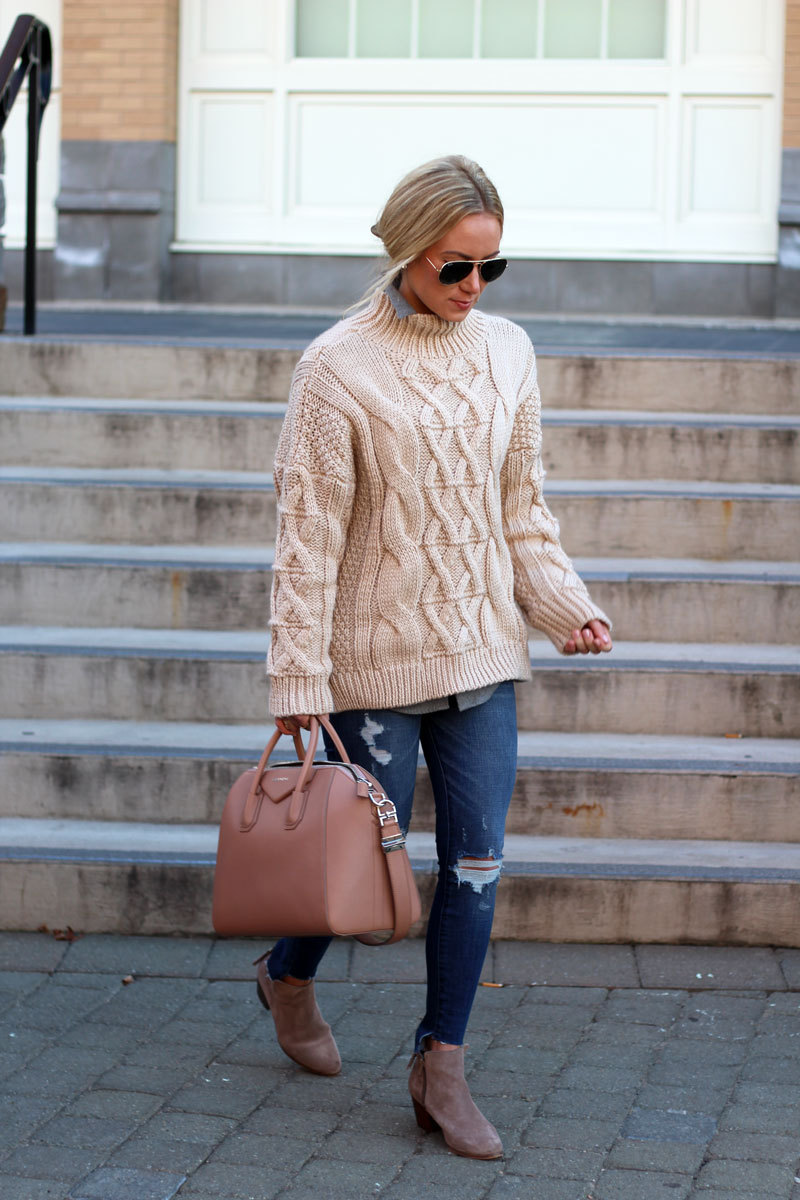 cableknit-turtleneck-sweater-abercrombie-jeans-winter-street-style-givenchy-antigona