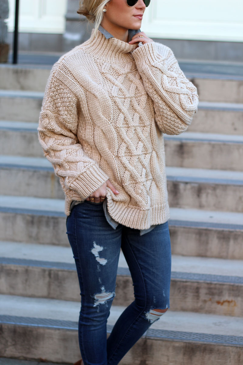 chicwish-cableknit-sweater-abercrombie-ripped-jeans-winter-style-how-to-layer-for-winter