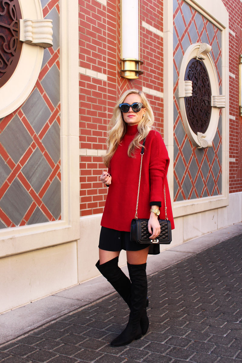 chicwish-red-sweater-rebecca-minkoff-love-crossbody-black-over-the-knee-boots
