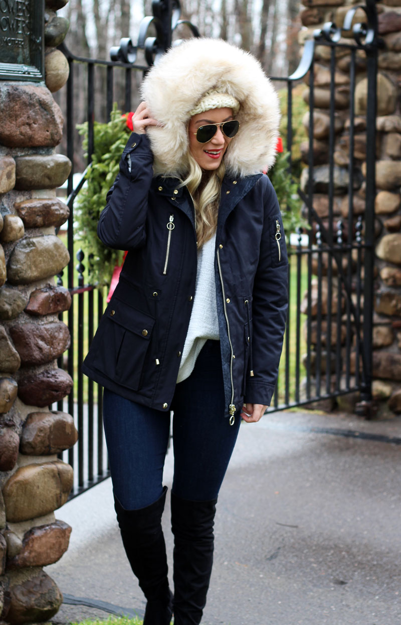STYLE // Winter Fur Trim Parka - Style CuspStyle Cusp