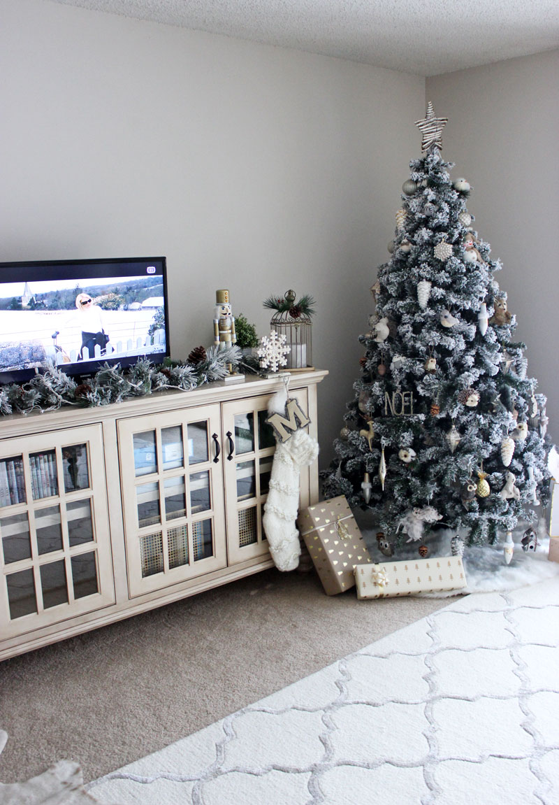 flocked christmas tree - Wayfair Christmas